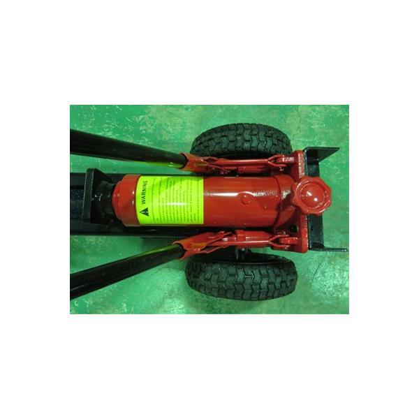 HLS-12T 手動式油圧薪割り機 (12tクラス) 【プレミア保証付き】 (薪割機)