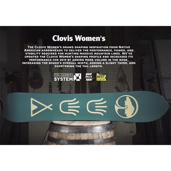 スノーボード 板 フリーライド パウダー 18-19 ARBOR アーバー CLOVIS WOMENS クロビスウーマンズ|agselect|04