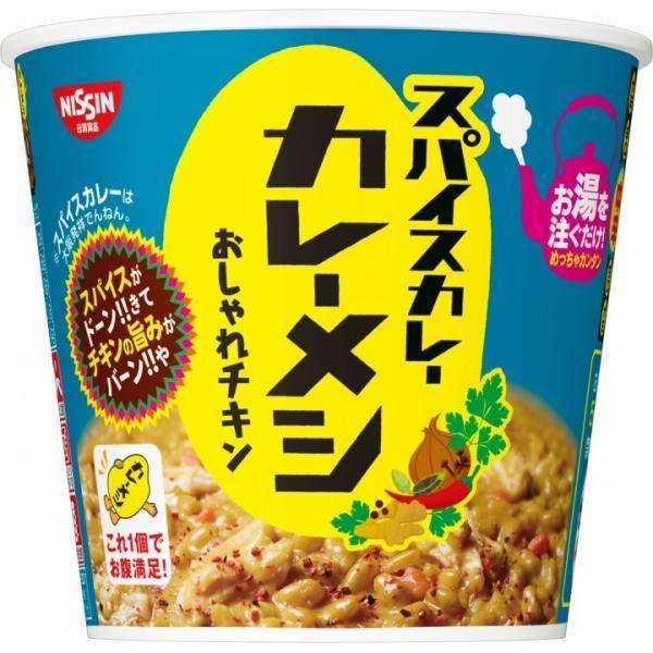 日清食品日清スパイスカレーカレーメシおしゃれチキンX6食