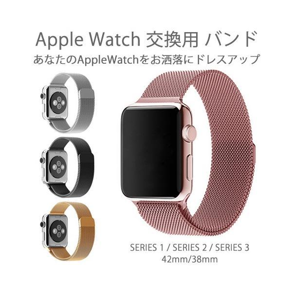Apple Watch バンド 交換用 ベルト SERIES1 SERIES2 SERIES3 42mm 38mm アップルウォッチ