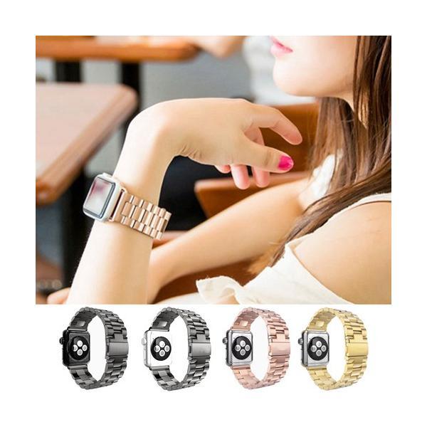 Apple watch series 4 バンド 44mm 42mm 40mm 38mm オシャレ ベルト SERIES3 SERIES2 SERIES1 アップルウォッチ|ahhzee|02