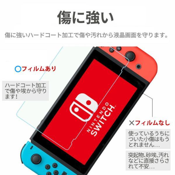 送料無料 Nintendo Switch 液晶保護フィルム ブルーライトカット フィルム シート シール 任天堂 ニンテンドー スイッチ AIF-SWITCH|ai-en|04