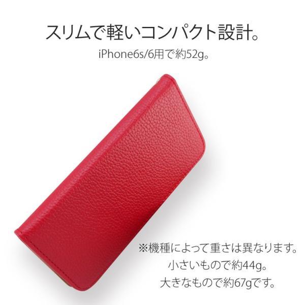 iPhoneXR/XsMax/Xs/X/8/8Plus iPhone7/7Plus/6s/6/SE/5s/5 手帳型カバー シンプル 手帳 ケース ジャケット ダイアリー AITC-SL|ai-en|10