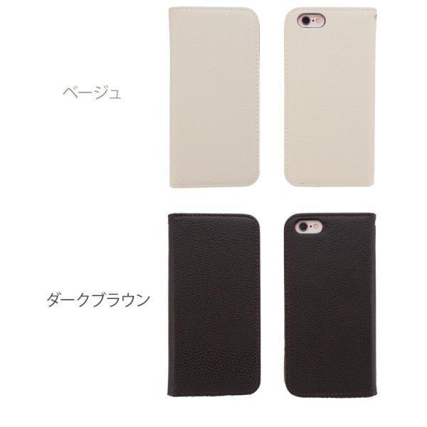 iPhoneXR/XsMax/Xs/X/8/8Plus iPhone7/7Plus/6s/6/SE/5s/5 手帳型カバー シンプル 手帳 ケース ジャケット ダイアリー AITC-SL|ai-en|16