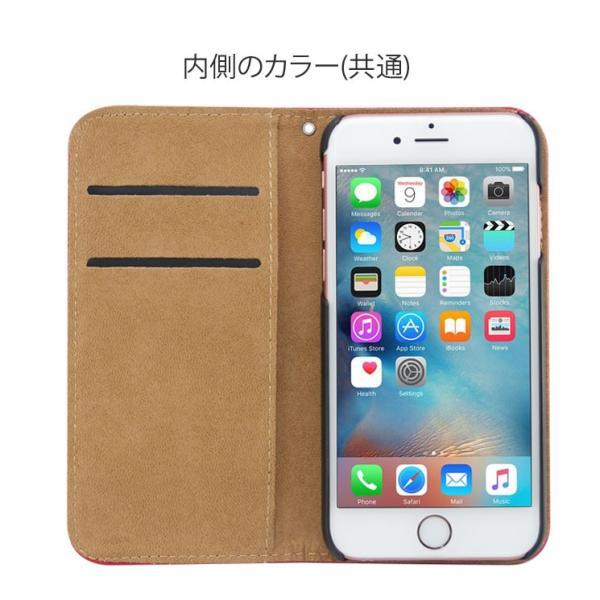 iPhoneXR/XsMax/Xs/X/8/8Plus iPhone7/7Plus/6s/6/SE/5s/5 手帳型カバー シンプル 手帳 ケース ジャケット ダイアリー AITC-SL|ai-en|17