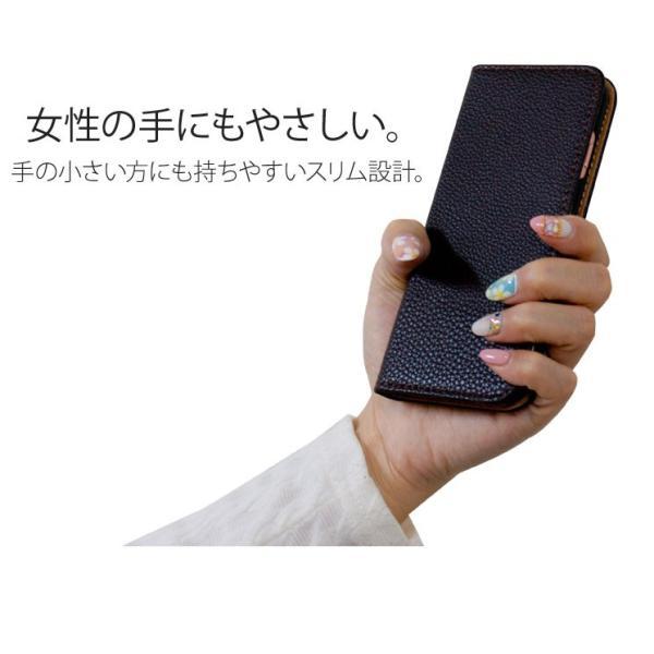 iPhoneXR/XsMax/Xs/X/8/8Plus iPhone7/7Plus/6s/6/SE/5s/5 手帳型カバー シンプル 手帳 ケース ジャケット ダイアリー AITC-SL|ai-en|03