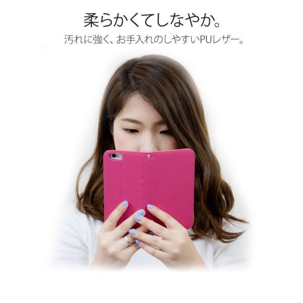 iPhoneXR/XsMax/Xs/X/8/8Plus iPhone7/7Plus/6s/6/SE/5s/5 手帳型カバー シンプル 手帳 ケース ジャケット ダイアリー AITC-SL|ai-en|07