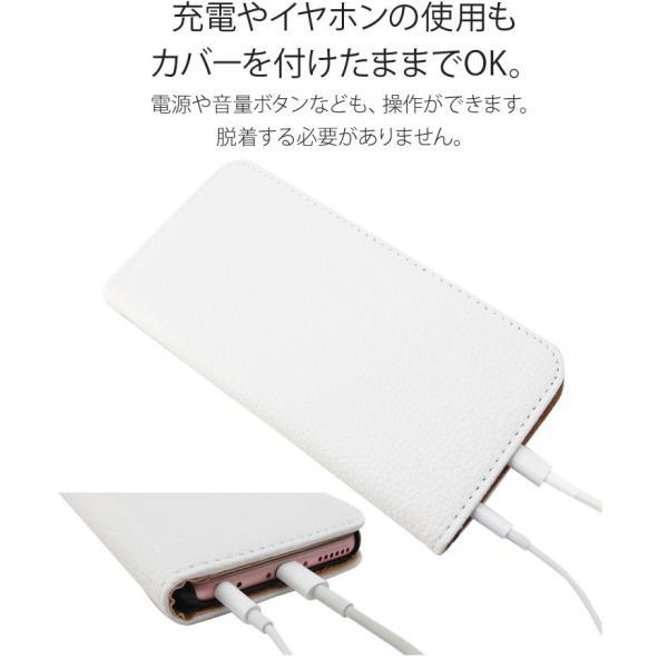 iPhoneXR/XsMax/Xs/X/8/8Plus iPhone7/7Plus/6s/6/SE/5s/5 手帳型カバー シンプル 手帳 ケース ジャケット ダイアリー AITC-SL|ai-en|08