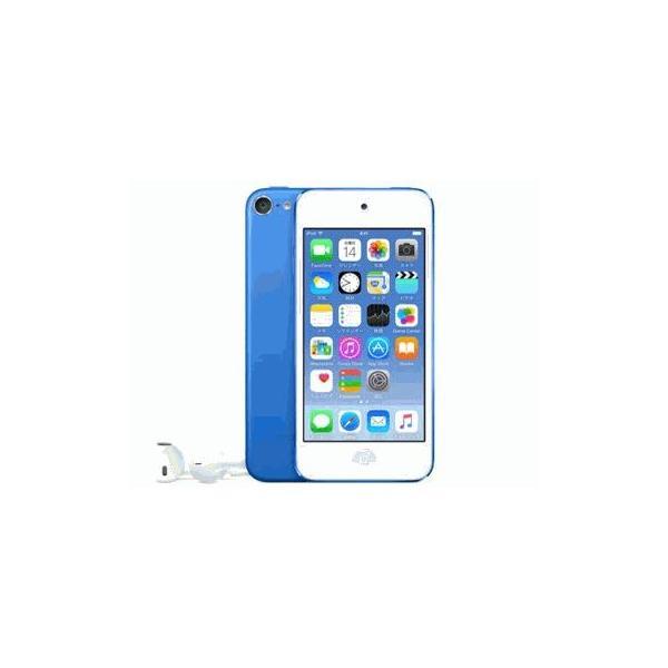 APPLE iPod touch 32GB ブルー MKHV2J/A(iPod touch 32GB ブルー) ブルー 容量:32GBの画像
