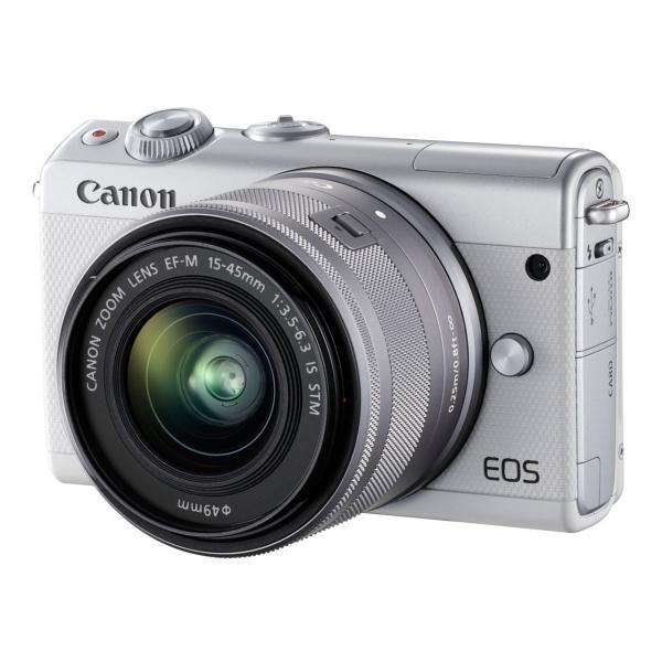 EOS M100 EF-M15-45 IS STM レンズキット [ホワイト]【お取り寄せ(4週間程度での入荷、発送)】