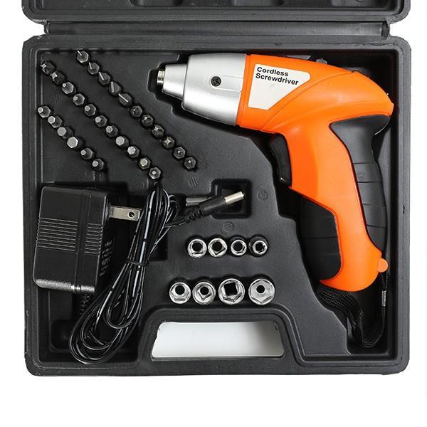 4.8V 充電式 ハンディドライバーセット 45PCS 電動ドライバー ドライバー DIY 電動工具 4.8Vドライバー ###ドライバ4.8V45PC###|ai-mshop|03