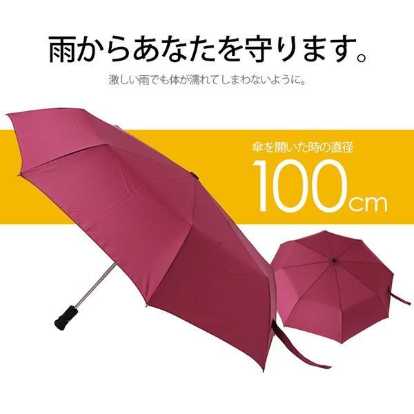 折りたたみ傘【総合ランキング1位受賞】折り畳み傘 自動開閉 高強度グラスファイバー LED搭載 雨具 撥水 丈夫 対強風 おしゃれ ###折畳傘TX1401### ai-mshop 03