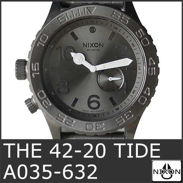 ニクソン 腕時計 メンズ ダイバー ウォッチ THE 42-20 TIDE A035-632 ダイバー 防水 人気 おしゃれ グラフ NIXSON 9050|ai-na