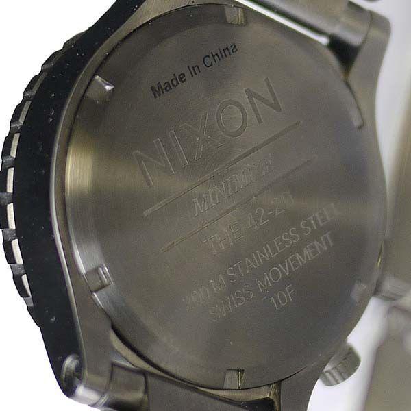 ニクソン 腕時計 メンズ ダイバー ウォッチ THE 42-20 TIDE A035-632 ダイバー 防水 人気 おしゃれ グラフ NIXSON 9050|ai-na|04