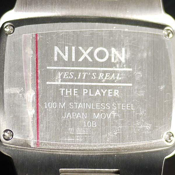 NIXON 9055 ニクソン プレイヤー 腕時計 メンズ THE PLAYER A140-000 ダイバー 人気 おしゃれ 防水 海外|ai-na|05