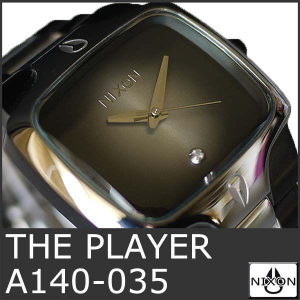 ニクソン 腕時計 メンズ プレイヤー THE PLAYER A140-035 アナログ 時計 人気 おしゃれ 防水 NIXSON 9058|ai-na
