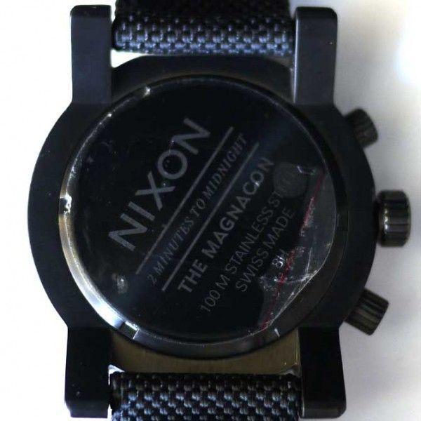 ニクソン 腕時計 メンズ マグナコン 黒 ブラック アナログ THE MAGNACON A079-001 人気 防水 ダイビング NIXSON 9064|ai-na|06