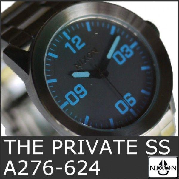 NIXON 9069 ニクソン 時計 プライベート 腕時計 ガンメタ メンズ ウォッチ アナログ THE PRIVATE SS A276-624 時計 ダイバー 人気 おしゃれ 防水 ダイビング|ai-na