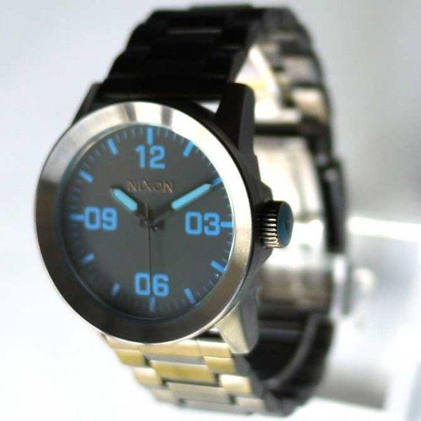 NIXON 9069 ニクソン 時計 プライベート 腕時計 ガンメタ メンズ ウォッチ アナログ THE PRIVATE SS A276-624 時計 ダイバー 人気 おしゃれ 防水 ダイビング|ai-na|02