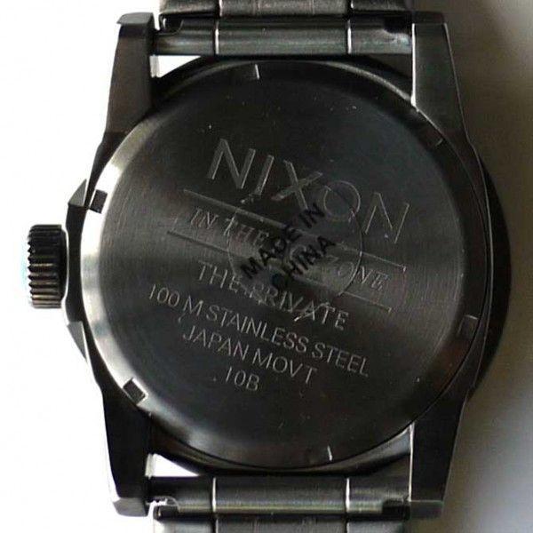 NIXON 9069 ニクソン 時計 プライベート 腕時計 ガンメタ メンズ ウォッチ アナログ THE PRIVATE SS A276-624 時計 ダイバー 人気 おしゃれ 防水 ダイビング|ai-na|05