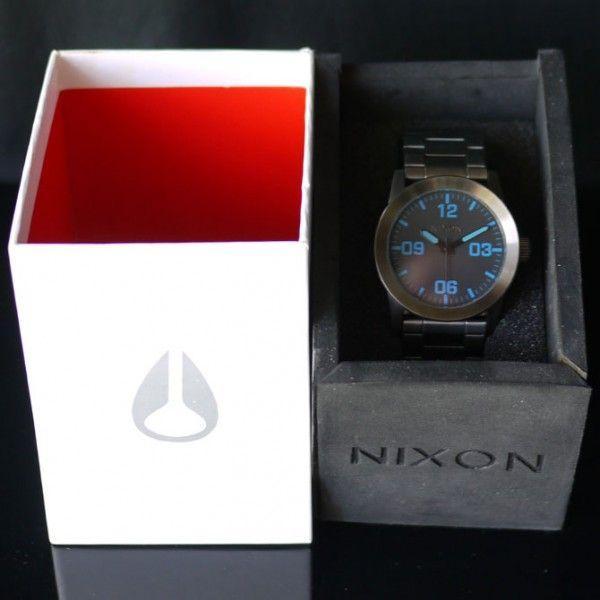 NIXON 9069 ニクソン 時計 プライベート 腕時計 ガンメタ メンズ ウォッチ アナログ THE PRIVATE SS A276-624 時計 ダイバー 人気 おしゃれ 防水 ダイビング|ai-na|06