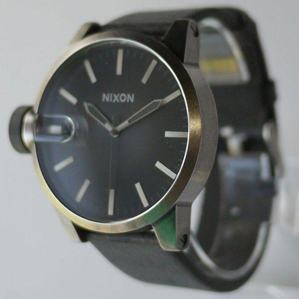 ニクソン 腕時計 メンズ クロニクル 黒 ブラック アナログ THE CHRONICLE ANTIQUE A127-479 人気 防水 NIXSON 9071|ai-na|02