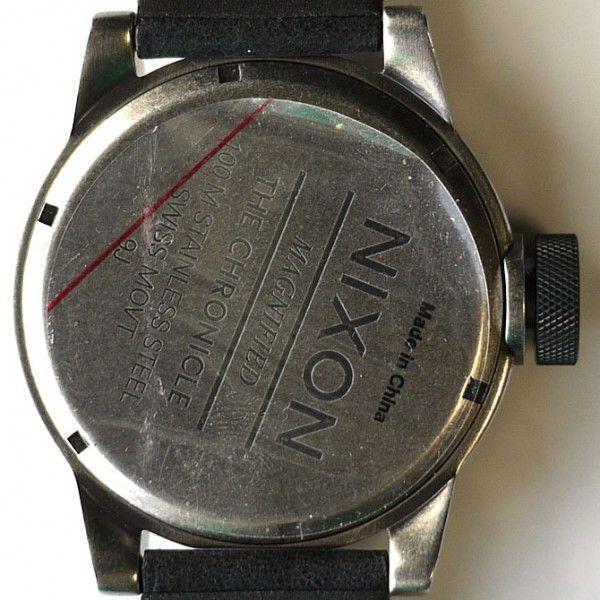 ニクソン 腕時計 メンズ クロニクル 黒 ブラック アナログ THE CHRONICLE ANTIQUE A127-479 人気 防水 NIXSON 9071|ai-na|05
