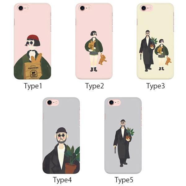 Iphone Galaxy スマホケース イラスト スリムケース アイフォン ケース