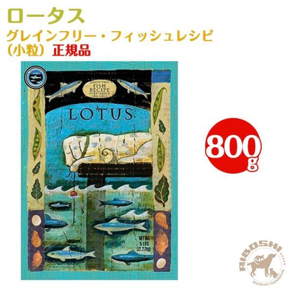 ロータス LOTUS グレインフリー・フィッシュレシピ/小粒(800g) 【配送区分:W】|aiboshi