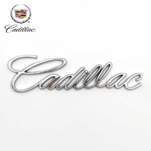 CADILLAC ロゴ メタルエンブレムシールプレート キャデラック 車に貼るだけ!メタルエンブレムマーク カーアクセサリー