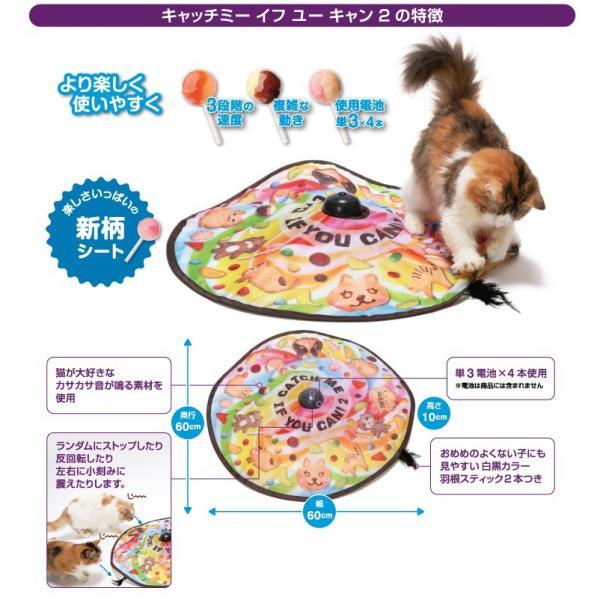 キャッチミーイフユーキャン2 猫 おもちゃ 猫壱 SPORT PET|aicarrot|02