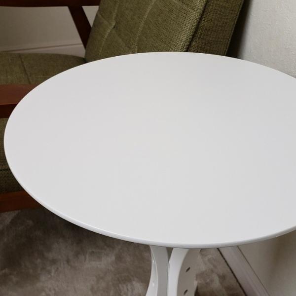 サイドテーブル ホワイト色(木目ほぼ無し) 何個でも送料合計500円♪(北海道・東北・九州・沖縄・離島を除く) お客様による組立が必要です。 木製 白色 CF-913WH|aidas-satisfaction|03
