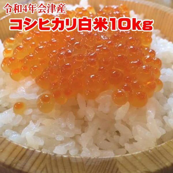 米10kg 送料無料地域あり 令和1年 会津産コシヒカリ  (小分け5kgx2) 「ふくしまプライド。体感キャンペーン(お米)」|aidu-kanehati-kome