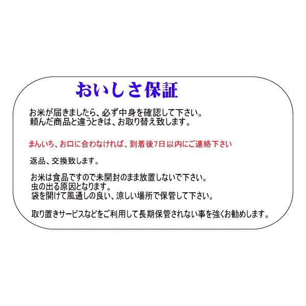 米10kg 送料無料地域あり 令和1年 会津産コシヒカリ  (小分け5kgx2) 「ふくしまプライド。体感キャンペーン(お米)」|aidu-kanehati-kome|05