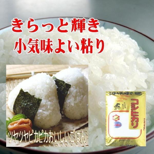 コシヒカリ 玄米25kg 送料無料 平成29年会津産小分け玄米10kgx2 5kgx1   (白米22.5kg )|aidu-kanehati-kome|05