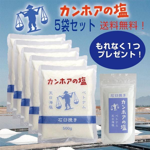 カンホアの塩5袋セット