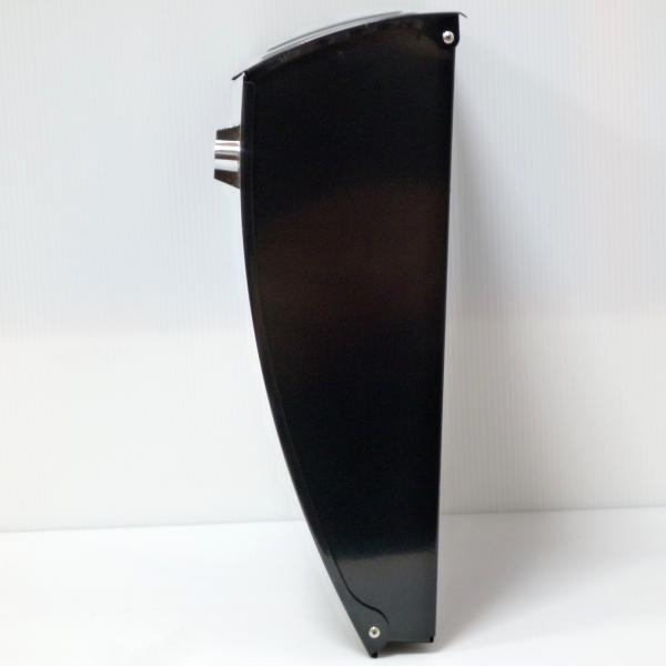 ポスト 郵便ポスト 郵便受け 大型メールボックス壁掛けブラック黒色ステンレスポストm023[訳あり]|aihome|04