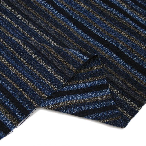 藍染茶藍柄撚(AT22247124)|aiira-ensyu