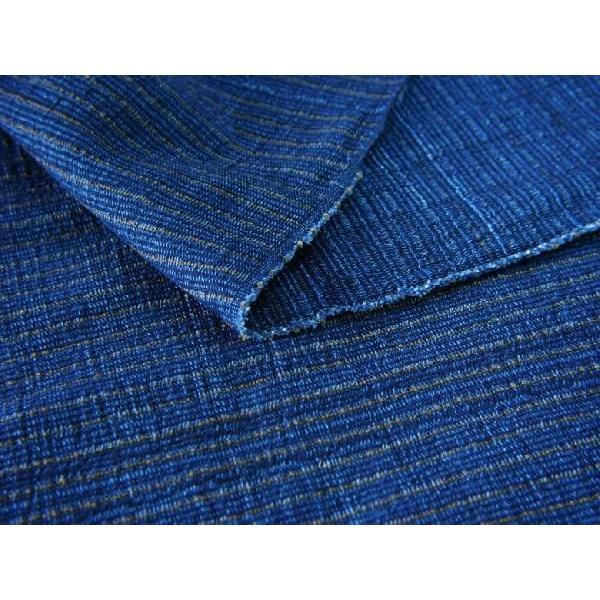 藍染切替茶縮み(KR16223110)|aiira-ensyu|03
