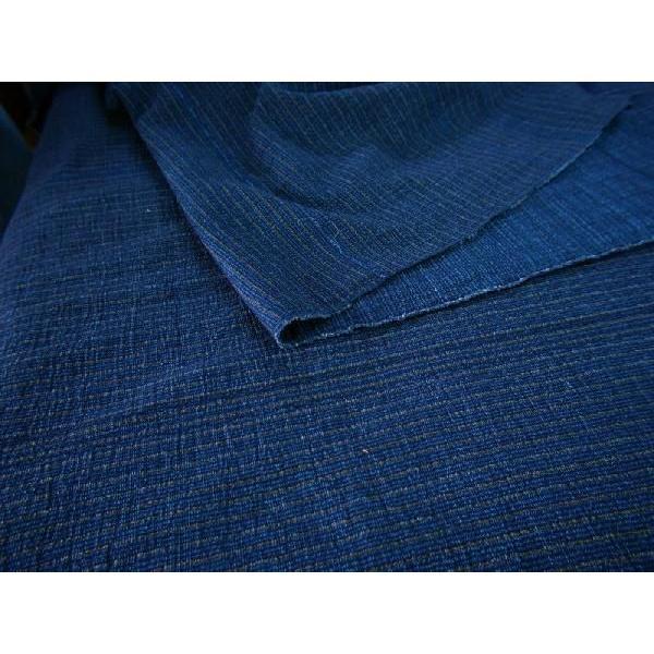 藍染切替茶縮み(KR16223110)|aiira-ensyu|05