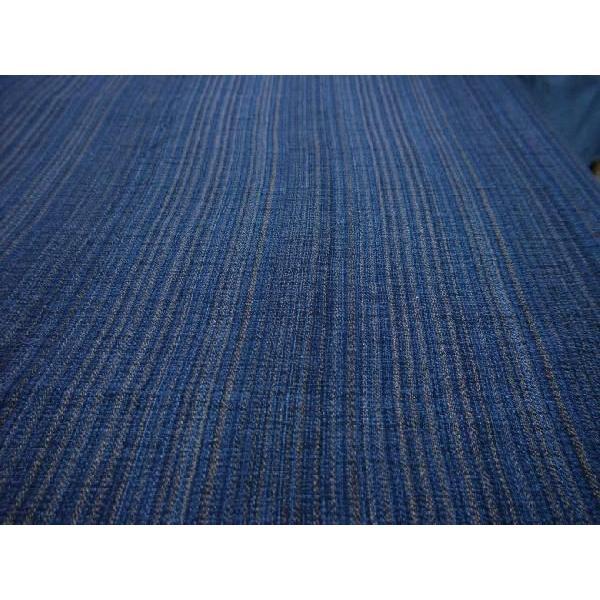 藍染茶藍柄撚(KW24207062)|aiira-ensyu|03