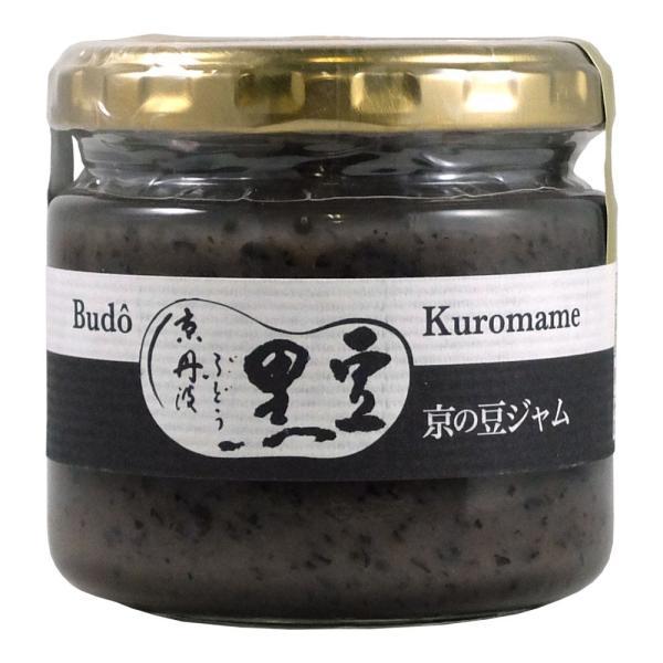 京・丹波ぶどう黒豆ジャム 155g 北尾