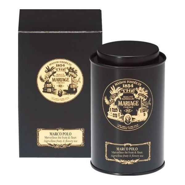 内祝いお返しギフトマリアージュフレールマルコポーロ100g缶入TJ918(出産内祝いお返し結婚入学祝ギフト引き出物贈答品)