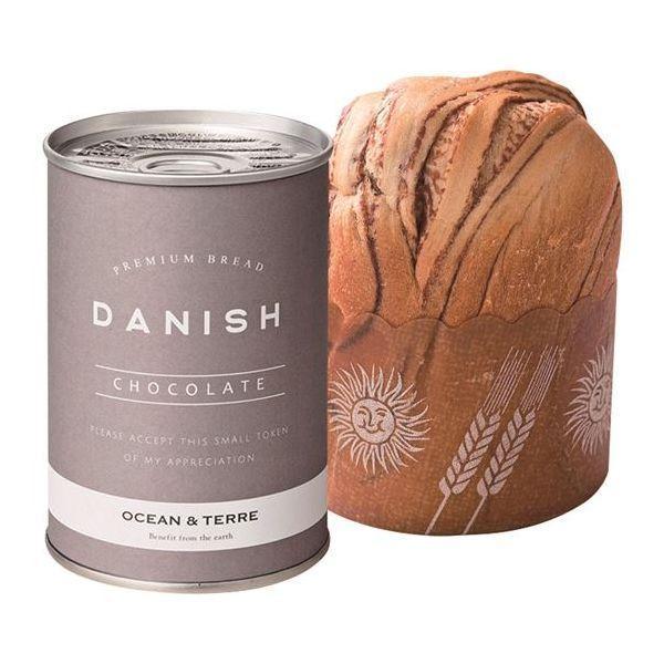 OCEAN&TERRE 缶入りデニッシュパン24缶 チョコレート A251(※納期約7〜10日(土日祝除く))(のし包装メッセージカード対応不可品)