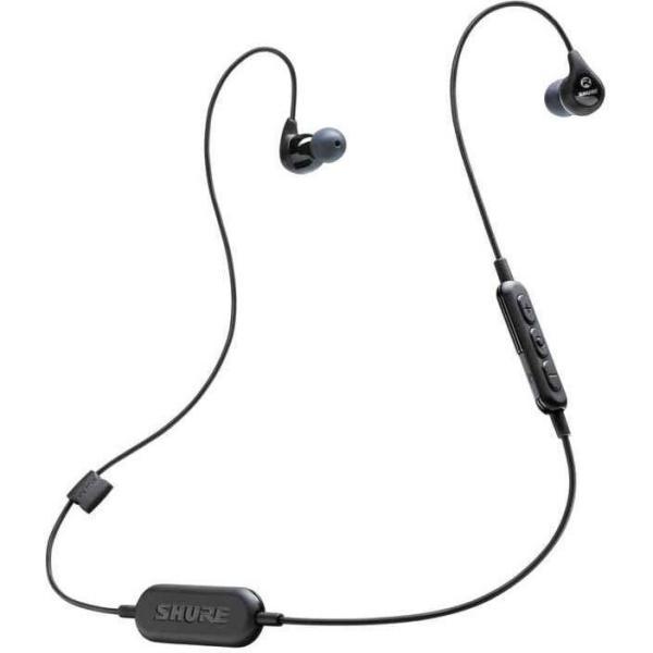 SHURE SE112-K-BT1-A (ブラック) WIRELESS Bluetooth 高遮音性 ワイヤレス イヤホン【送料込】