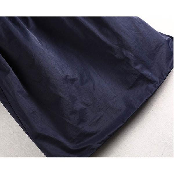大きいサイズコート ファーボア 綿混紡 カジュアル パーカーコート レディース ミセス 1912 2001 2002 2019秋冬|ail|08