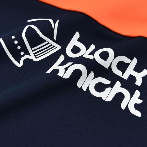 3901f022146b ... 2017最新作 ラックナイト BLACK KNIGHT バドミントン スカッシュ ユニ ウェア 長袖プラクティスシャツ Tシャツ ...