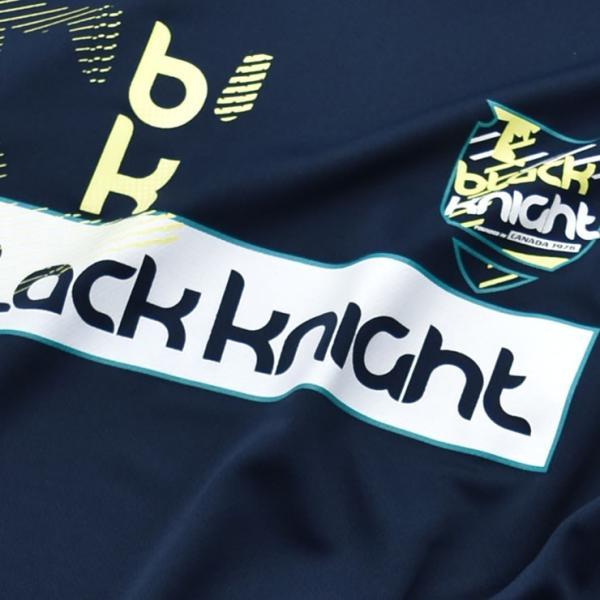2019最新作 ラックナイト BLACK KNIGHT バドミントン スカッシュ  ユニ ウェア  長袖プラクティスシャツ Tシャツ プラシャツ T-9250|aimagain|05