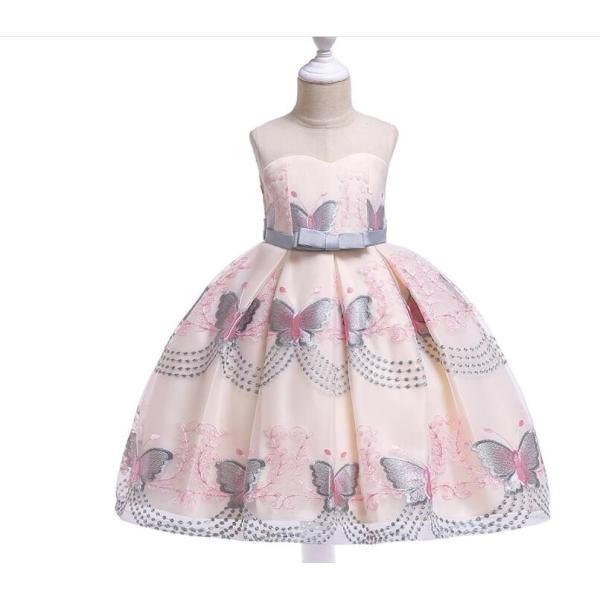 efa242b5fff1f ... 2019新品 子供ドレス ピアノ 発表会 ドレス 女の子ドレス ベビードレス 結婚式 七五三 演奏 ...