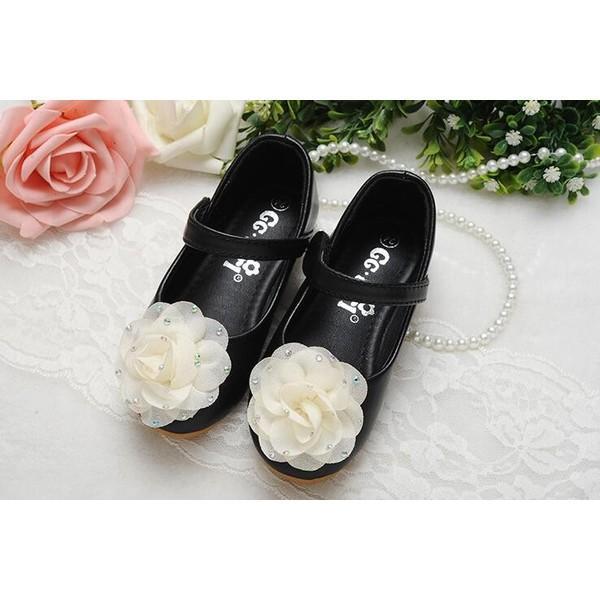 efc9a8ddc422e ... 子供靴 キッズ シューズ フォーマル シューズ 女の子 PU靴 花ダンスシューズ 結婚式 入学式 ...